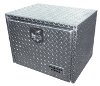 Heavy Duty Underbody Tool Box, Full Diamond Plate, 18x18x24